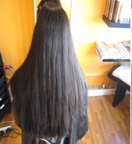 smoothing hair treatment before