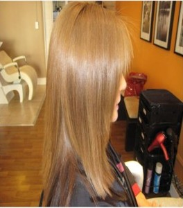 Brazilian blowout after
