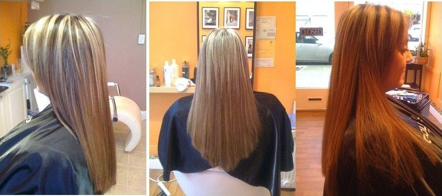 hair extension after